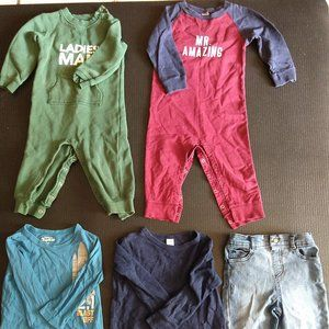 Toddler Boy Clothes Lot of 5 Sz 24M/2T